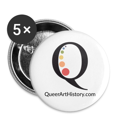 Queer Art History Q logo - Small Buttons