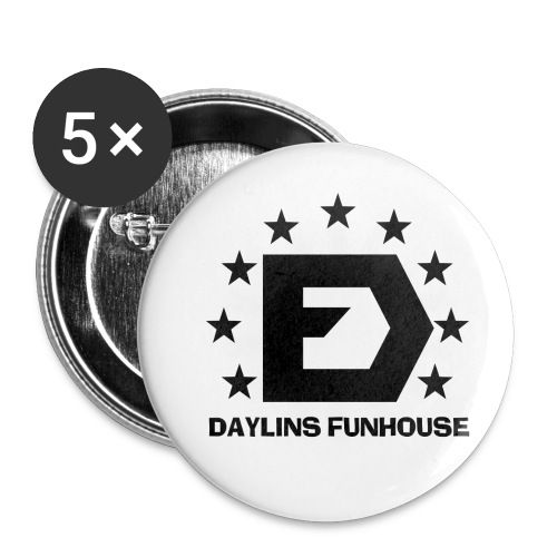 DF Classic Logo - Buttons small 1'' (5-pack)