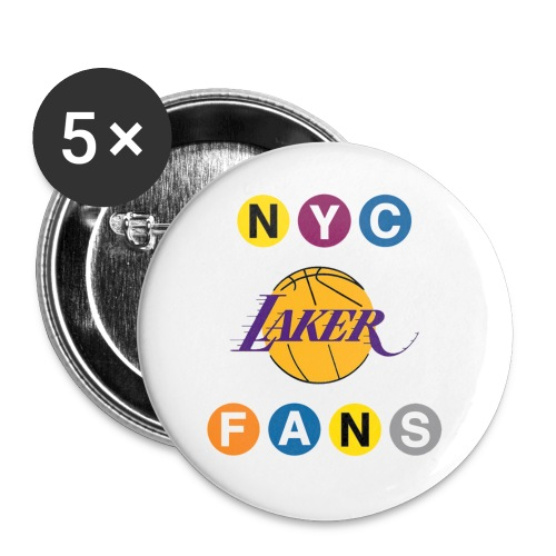 nyclakerfans crop - Buttons small 1'' (5-pack)