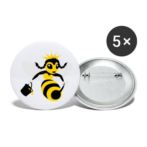 Queen Bee - Buttons small 1'' (5-pack)