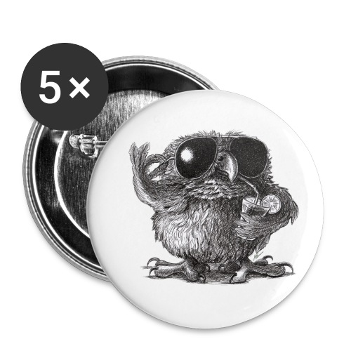 Cool Owl - Buttons small 1'' (5-pack)
