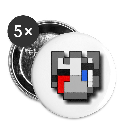 QSKSwMask png - Buttons small 1'' (5-pack)