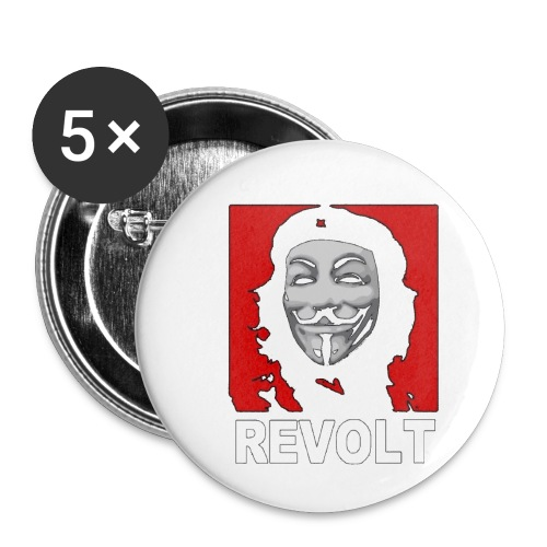Anonymous Che Revolt Mugs & Drinkware - Buttons small 1'' (5-pack)