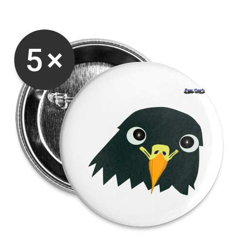 Busyhandz classic eagle kid's premium T. shirt - Buttons small 1'' (5-pack)
