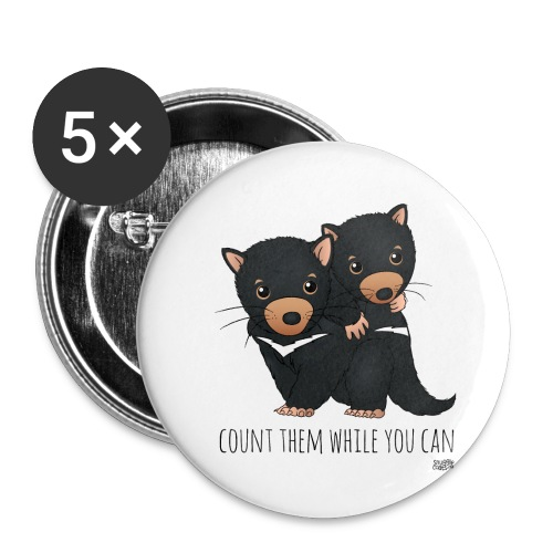 snugglecoats_tasmaniandev - Buttons small 1'' (5-pack)