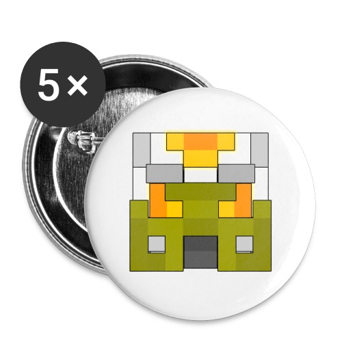 Vahkiti Mask - Buttons small 1'' (5-pack)