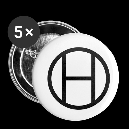 logo premium tee - Buttons small 1'' (5-pack)