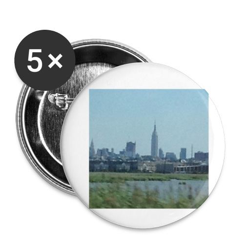 New York - Buttons small 1'' (5-pack)