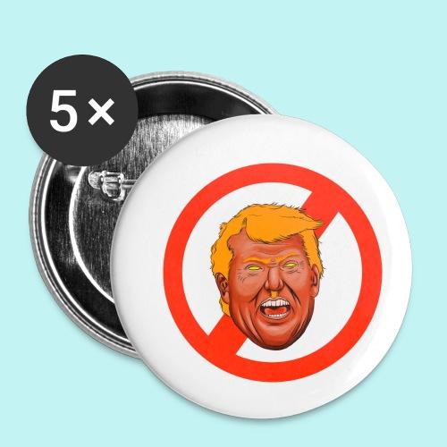 Dump Trump - Buttons small 1'' (5-pack)