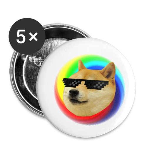 Doge - Buttons small 1'' (5-pack)
