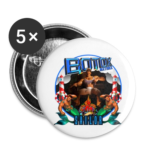 BOTOX MATINEE SAILOR T-SHIRT - Buttons small 1'' (5-pack)