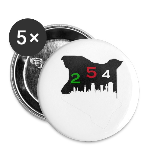 Mwenyeji Wa Kenya - Buttons small 1'' (5-pack)
