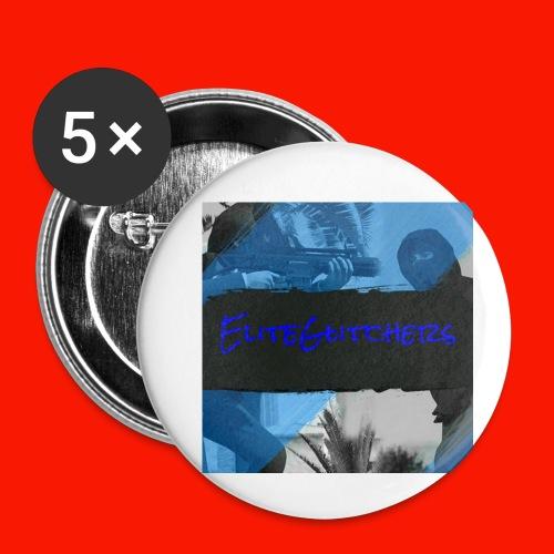 EliteGlitchersRevamp - Buttons small 1'' (5-pack)