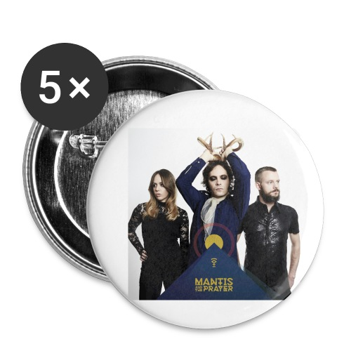 Mantis and the Prayer- Pyramid Design for kids - Buttons small 1'' (5-pack)