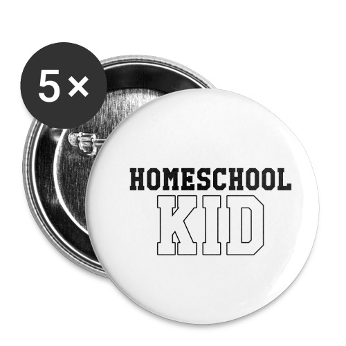 homeschoolkid - Buttons small 1'' (5-pack)
