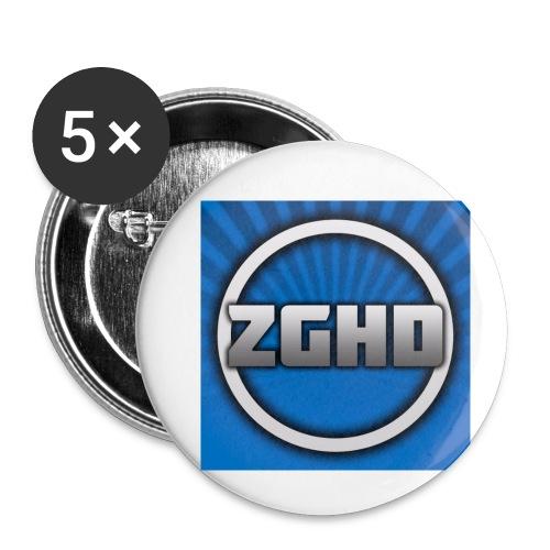 ZedGamesHD - Buttons small 1'' (5-pack)