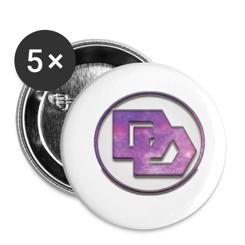 DerpDagg Logo - Buttons small 1'' (5-pack)