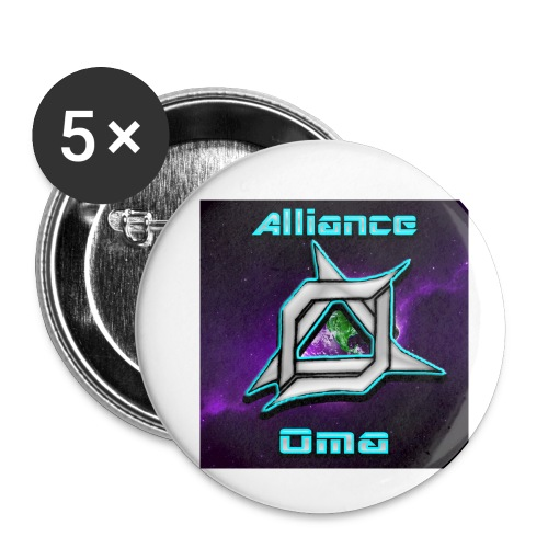 Oma Alliance - Buttons small 1'' (5-pack)