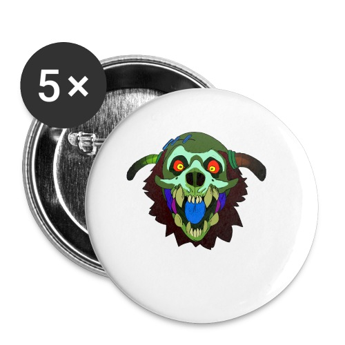Dr. Mindskull - Small Buttons