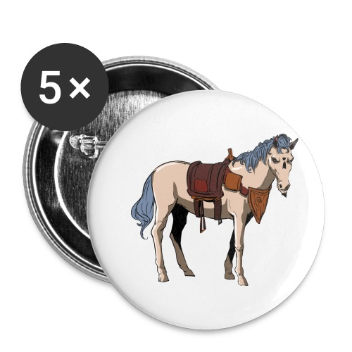 Useless the Horse png - Buttons small 1'' (5-pack)