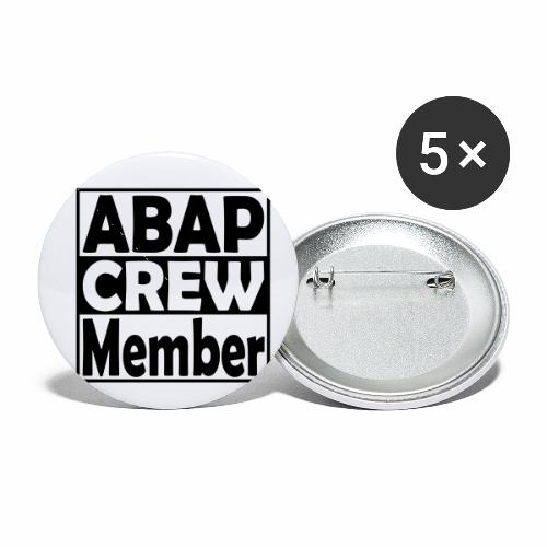 ABAPcrew - Buttons small 1'' (5-pack)