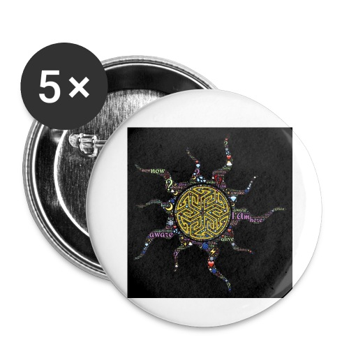 awake - Buttons small 1'' (5-pack)