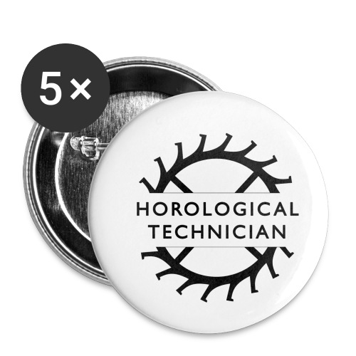 Horological Technician - Buttons small 1'' (5-pack)