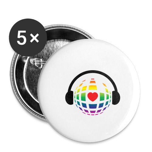 my music world - Buttons small 1'' (5-pack)