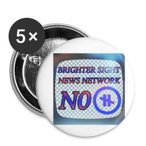 NO PAUSE - Buttons small 1'' (5-pack)