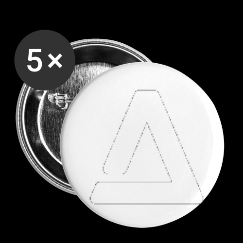 logo - Buttons small 1'' (5-pack)
