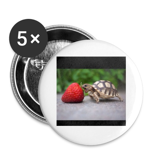 Basher the Turtle - Buttons small 1'' (5-pack)