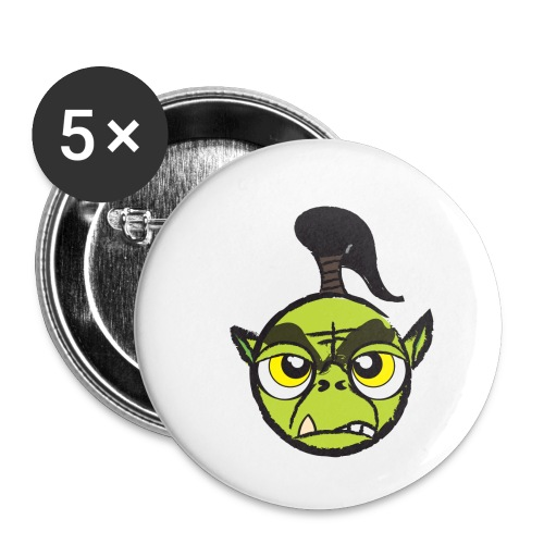 Warcraft Baby Orc - Buttons small 1'' (5-pack)