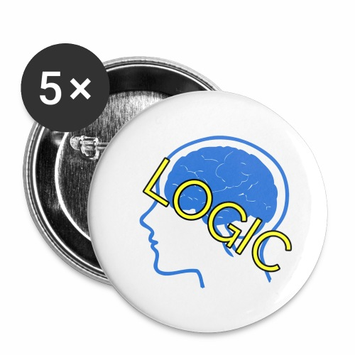 Logic - Buttons small 1'' (5-pack)
