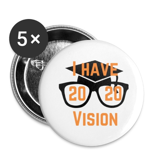 Class of 2020 Vision - Buttons small 1'' (5-pack)