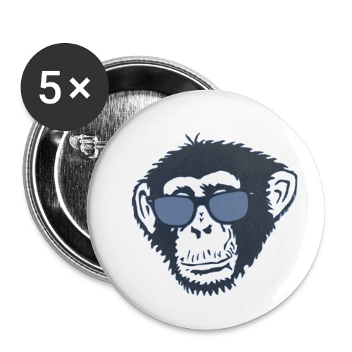 Monkey Des - Buttons small 1'' (5-pack)