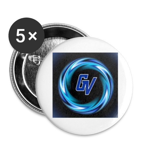 MY YOUTUBE LOGO 3 - Buttons small 1'' (5-pack)