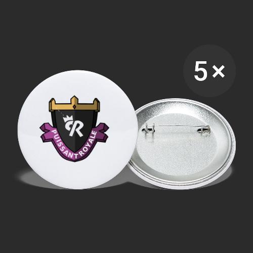 Puissant Royale Logo - Buttons small 1'' (5-pack)
