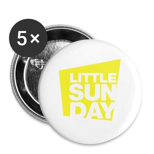littleSUNDAY Official Logo - Small Buttons
