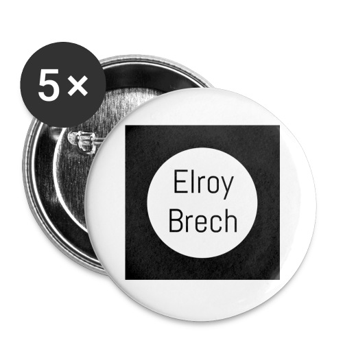 Elroy Brech - Buttons small 1'' (5-pack)