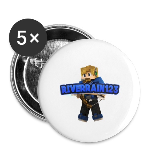 Riverrain123 - Buttons small 1'' (5-pack)