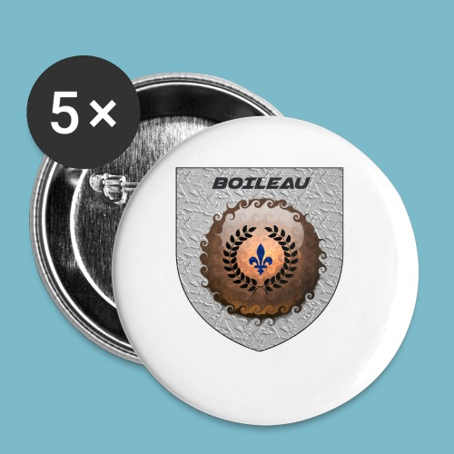 BOILEAU 1 - Buttons small 1'' (5-pack)