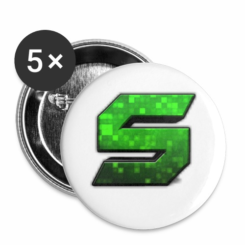 seans logo - Buttons small 1'' (5-pack)