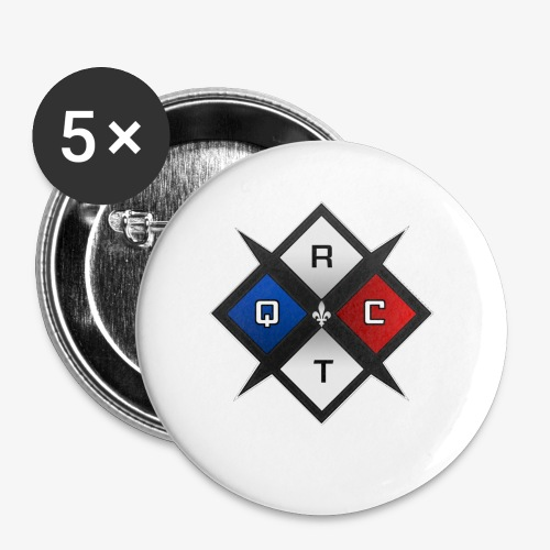 RTQC Logo - Buttons small 1'' (5-pack)