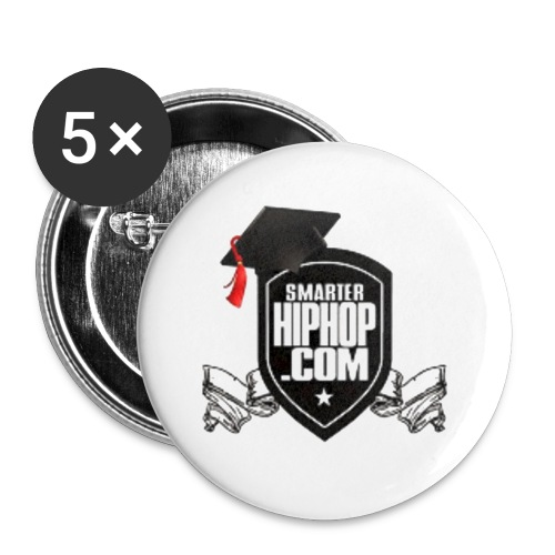 Official Smarterhiphop Merch - Small Buttons
