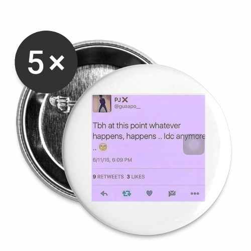 Idc anymore - Buttons small 1'' (5-pack)