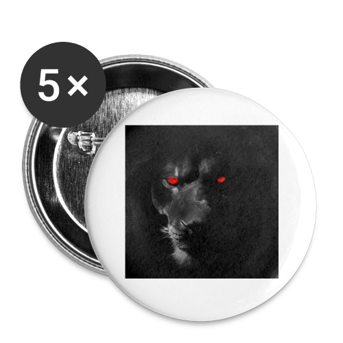 Black ye - Buttons small 1'' (5-pack)