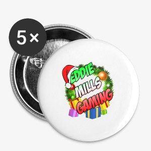 Eddie Mills Christmas - Small Buttons