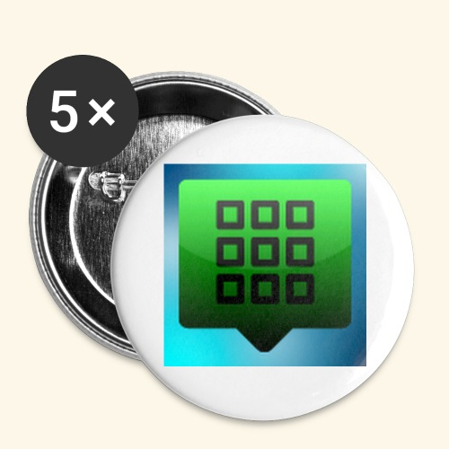 photo 1 - Buttons small 1'' (5-pack)