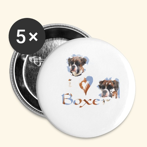Boxer - Buttons small 1'' (5-pack)