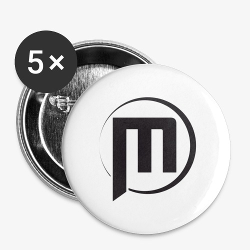 Mini Battlfield Games - Simple M - Buttons small 1'' (5-pack)